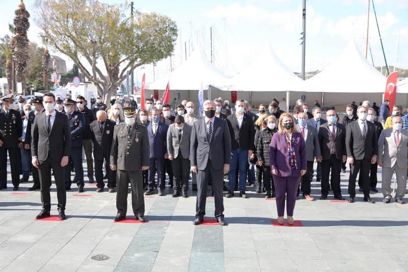 Çanakkale Deniz Zaferi'nin 106. Yılı Kapsamında Bodrum'da Bir Dizi Program Düzenlendi…